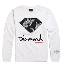 Diamond Supply Co Tonal Floral Crew Fleece at PacSun.com