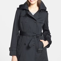 Women's London Fog Heritage Trench Coat with Detachable Liner ,