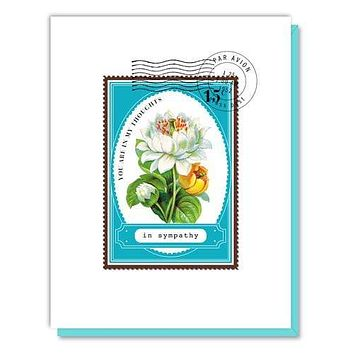You Are in My Thoughts Sympathy Card
