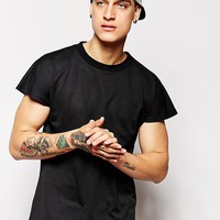 Standard Issue | Standard Issue Exclusive Mesh T-Shirt with Capped Sleeves at ASOS