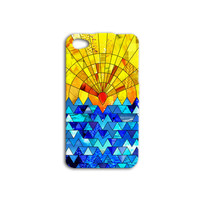 Beautiful iPhone Case Abstract Ocean Sunshine Waves Beach iPod Cover iPhone 4 iPhone 5 iPhone 5s iPhone 4s iPhone 5c iPod 4 Case iPod 5 Case