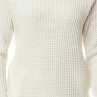 MOSSIE SWEATER IN IVORY