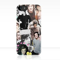 Harry Styles Collage iPhone Case