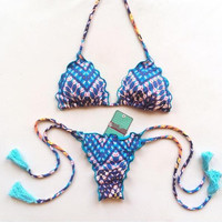 Summer Beach Swimsuit New Arrival Hot Ladies Print Sexy Bikini [9622885199]