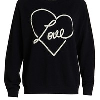 Chinti and Parker Cashmere 'Love' Sweater | Nordstrom