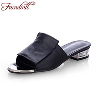 brand design summer shoes woman sandals sexy open toe fashion summer style sandals platform shoes leather casual shoes slipper
