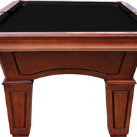 Playcraft St. Lawrence Slate Pool Table W/ Leather Drop Pockets