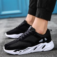 Times New Roman Spring Autumn Men's Fashion Casual Shoes Trend Male Air Mesh Breathable Men For Adult Comfortable Sneakers