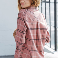 Me To We Plaid Button-Down Shirt at PacSun.com