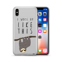 I Woke Up Like This - Clear TPU Case Cover