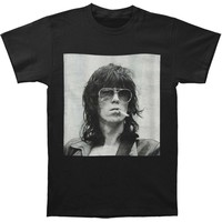 Rolling Stones Men's  Keith Smoke T-shirt Black