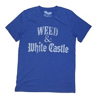Weed-Stoner T-shirt - Weed & White Castle Unisex tee - by American Anarchy Brand