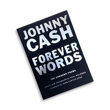 Johnny Cash Forever Words Book