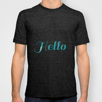 Hello T-shirt by 83oranges.com