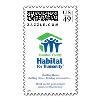 Houston County Habitat for Humanity Postage Stamps