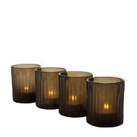 Bronze Tea Light Holder (set of 4) | Eichholtz Astor