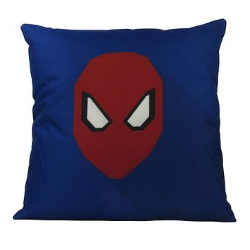 Spider | Superhero | Vector Art | Fun Gifts | Pillow Cover | Home Decor | Throw Pillows | Happy Birthday | Kids Room Decor | Kids Room