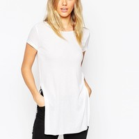 ASOS Tunic Top with Side Split