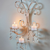Vintage Bathroom Collection Wall LED Candle Chandelier