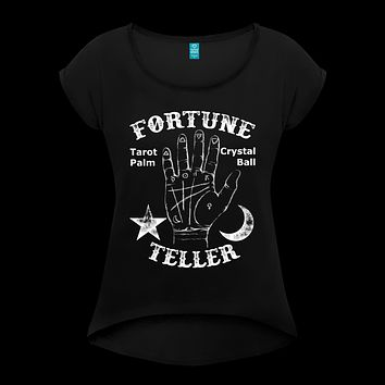 Fortune Teller Women's Roll Cuff T-Shirt