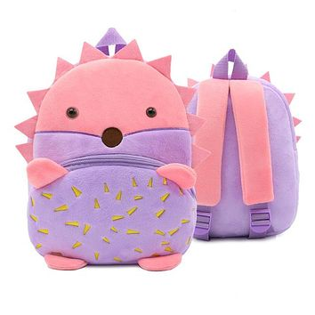 Toddler Backpack class Kawaii Cartoon Pink Cat Animals Backpack for Baby Girls Toddler Plush Stitch School Bags Kindergarten Kids Gifts Toys Schoolbag AT_50_3