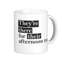 Grammar Mug -A Lesson in There, They're, and Their