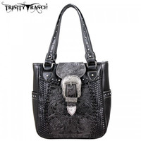 Montana West TR-SSF-8349 Buckle Trinity Ranch Handbag