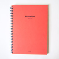 Mon Cahier Large Daily Planner Coral
