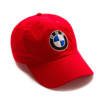 """Club Foreign Logo Hat """"Bavarian Motor Works"""" - Red"""