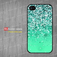 iPhone 5s case iPhone 5c case iPhone 5 case iPhone 4 case beautiful green spots print design