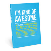 Knock Knock I'm Kind of Awesome Journal - Official Shop