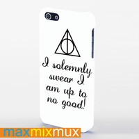 I Solemnly Swear That I Am Harry Potter iPhone 4/4S, 5/5S, 5C Series Full Wrap Case