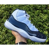 Air Jordan Midnight Navy 11 Gym Red 11s Carbon Fiber  with box Basketball Shoes Men and Women