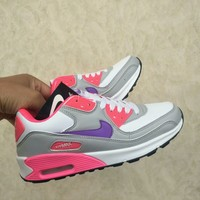 """Nike Air Max"" Women Casual Fashion Multicolor Small Air Cushion Sneakers Running Shoes"