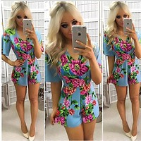 New Rompers Women lace Jumpsuit Elegant Short Overalls Jumpsuit Female Summer Playsuit chest wrapped strapless Rompe