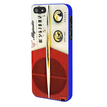 Vintage Radio iPhone 5 Case Available for iPhone 5 iPhone 5s iPhone 5c iPhone 4/4s