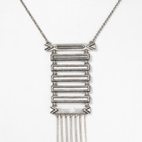 House of Harlow 1960 Jewelry Antiqued Totem Pole Necklace