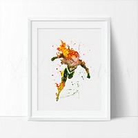Hope Summers Watercolor Art Print