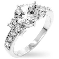 Simplicity Engagement Ring, size : 09