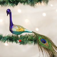Old World Christmas Magnificent Peacock