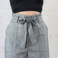 Kira Plaid Shorts