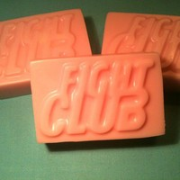 Fight Club Soap  Shea Butter  3 Bars  Spearmint by ElixirSoap