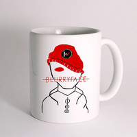 Twenty One Pilots Blurryface for Mug Design