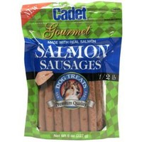 Cadet Salmon Sausages for Dogs