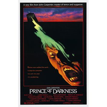 Prince of Darkness Movie Poster//Reproduction Movie Poster//Poster Reprint