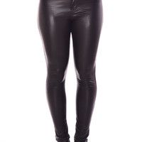 Perry Wet Look Trousers