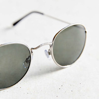 Round Metal Sunglasses - Urban Outfitters
