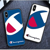 Champion New fashion logo print protective case phone case