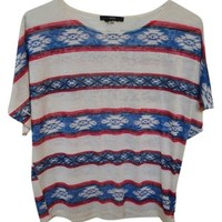 Forever 21 Tribal Print Top 36% off retail