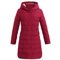Winter Coat Women 2018 New Long Parka Casual Outwear Military Hooded Thickening Cotton Coat Winter Jacket For Coat Women Clothes